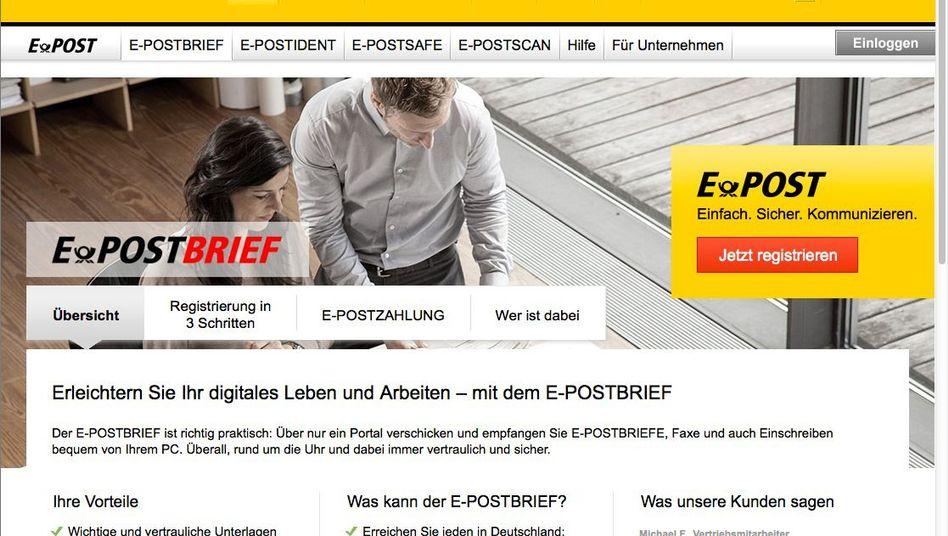 E-Postbrief der Deutschen Post: Alternative zur De-Mail von Telekom und Co.