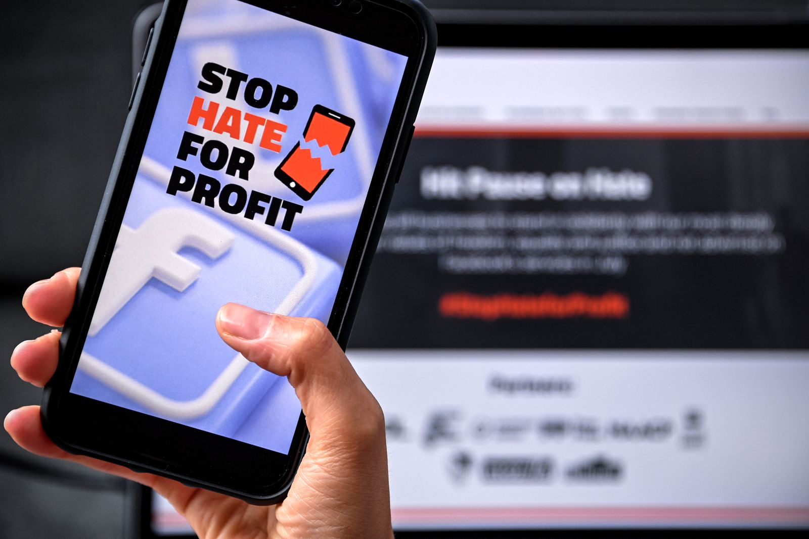 Stop Hate For Profit: Advertising boycott against Facebook, Cologne, Germany - 29 Jun 2020