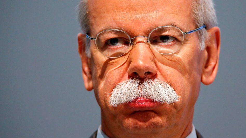Dieter Zetsche: Der Daimler-Boss (Archivbild) muss sparen
