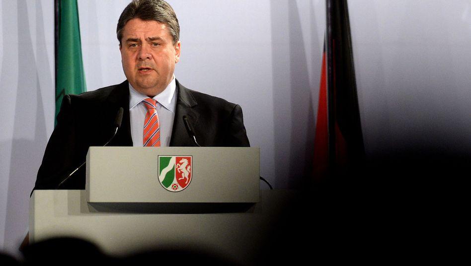 Minister Gabriel: Industrie offensiv verteidigen