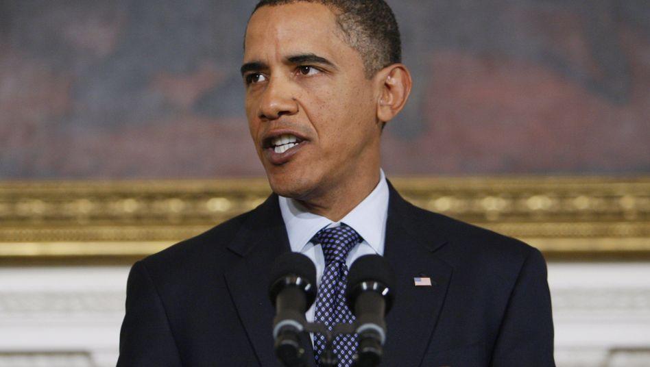 """Obama bei Pressekonferenz zu Detroit-Untersuchung: """"The buck stops with me"""""""