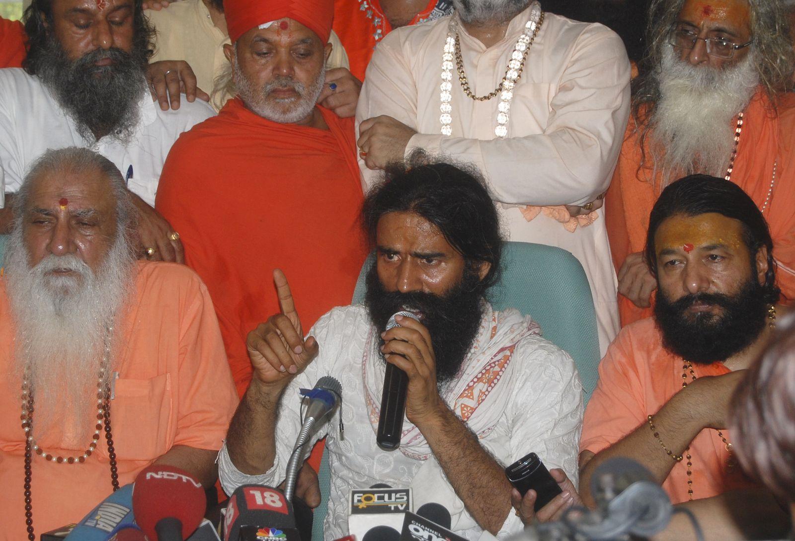Yoga-Guru Swami Ramdev
