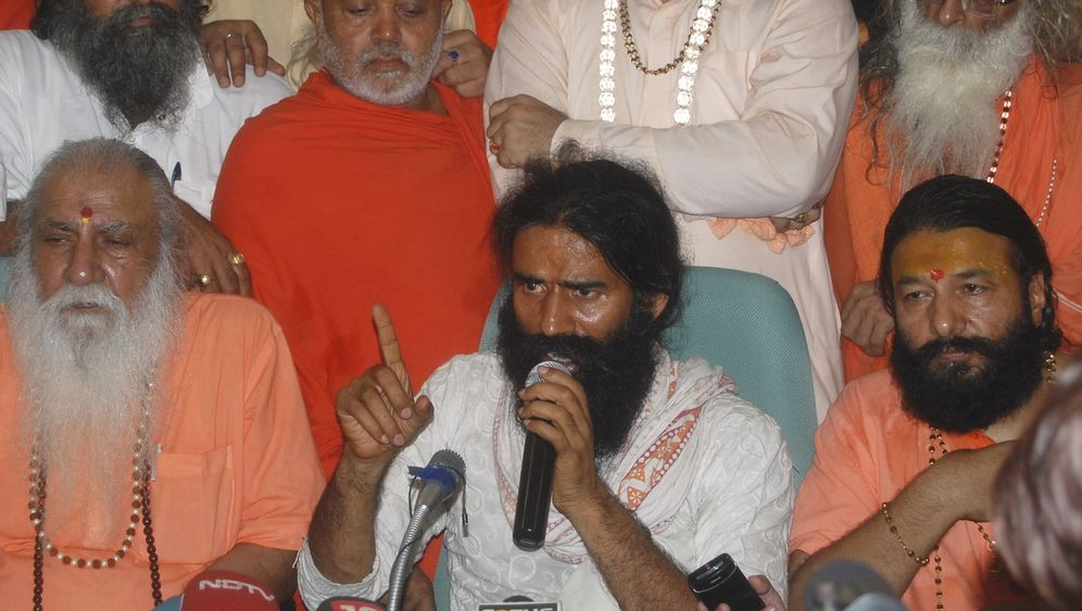 Yoga-Guru Baba Ramdev: Kampf gegen die Korruption