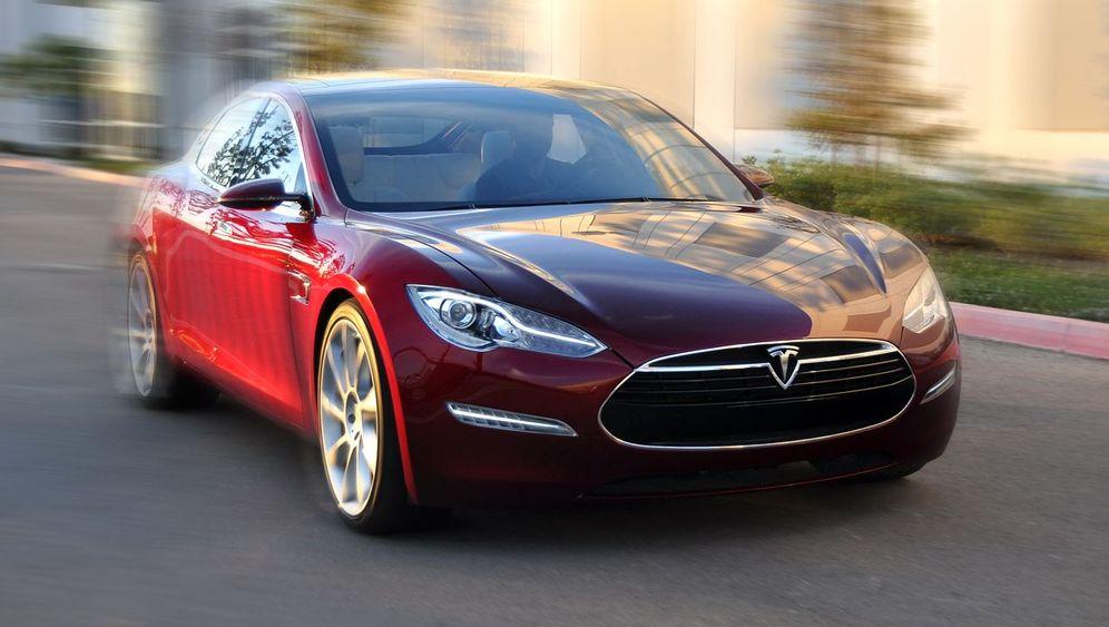Tesla Model S: Die elektrische S-Klasse