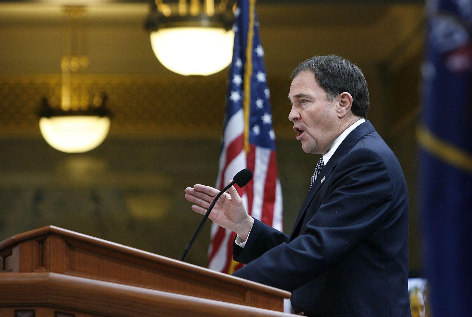 Gary Herbert/ Gouverneur Utah/ USA