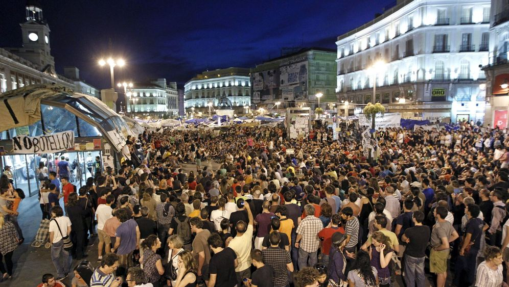 Protest in Madrid: Bibliothek statt Barrikaden