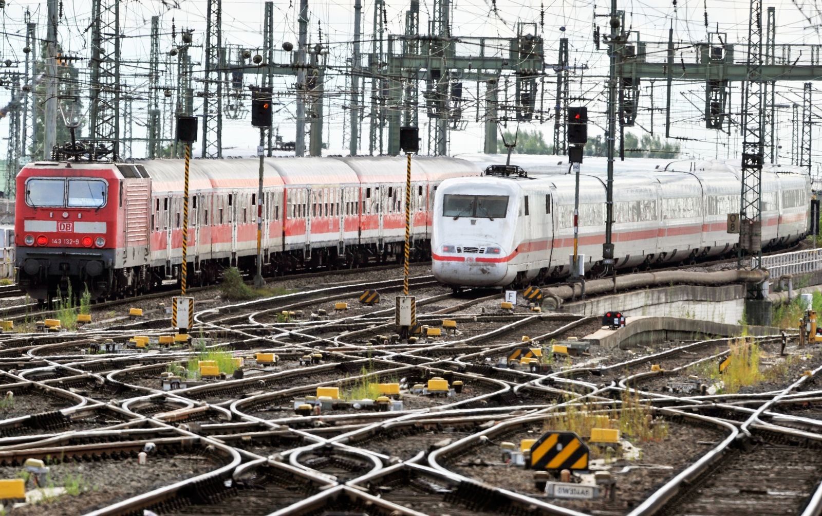 Deutsche Bahn / Die Bahn / Schienen