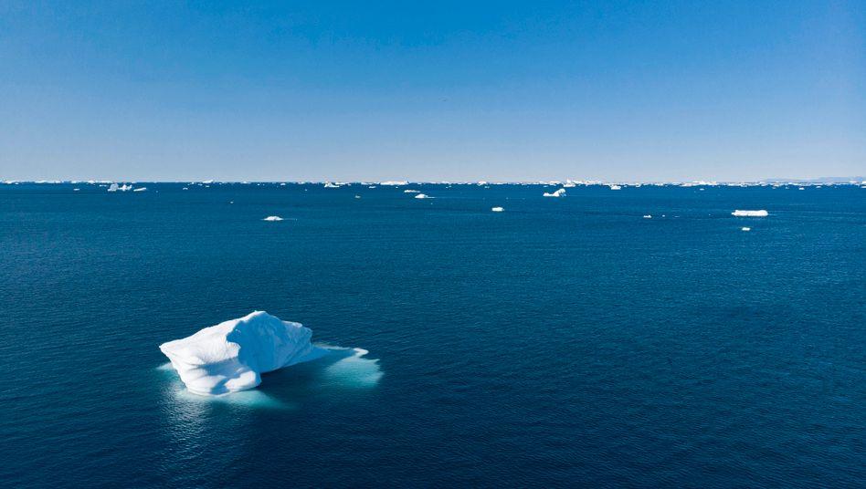 Eisreste auf dem Arktischen Ozean vor Grönland (Archivbild)