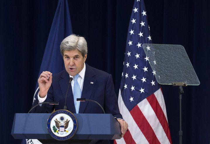 """John Kerry: """"Die Siedler bestimmen Israels Zukunft"""""""