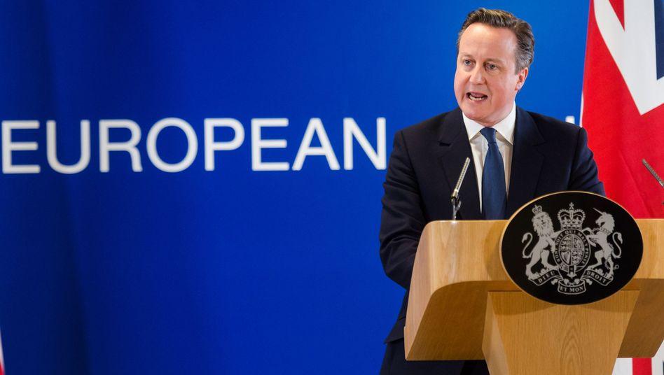 Camerons Show beim EU-Gipfel: Gernegroßbritannien