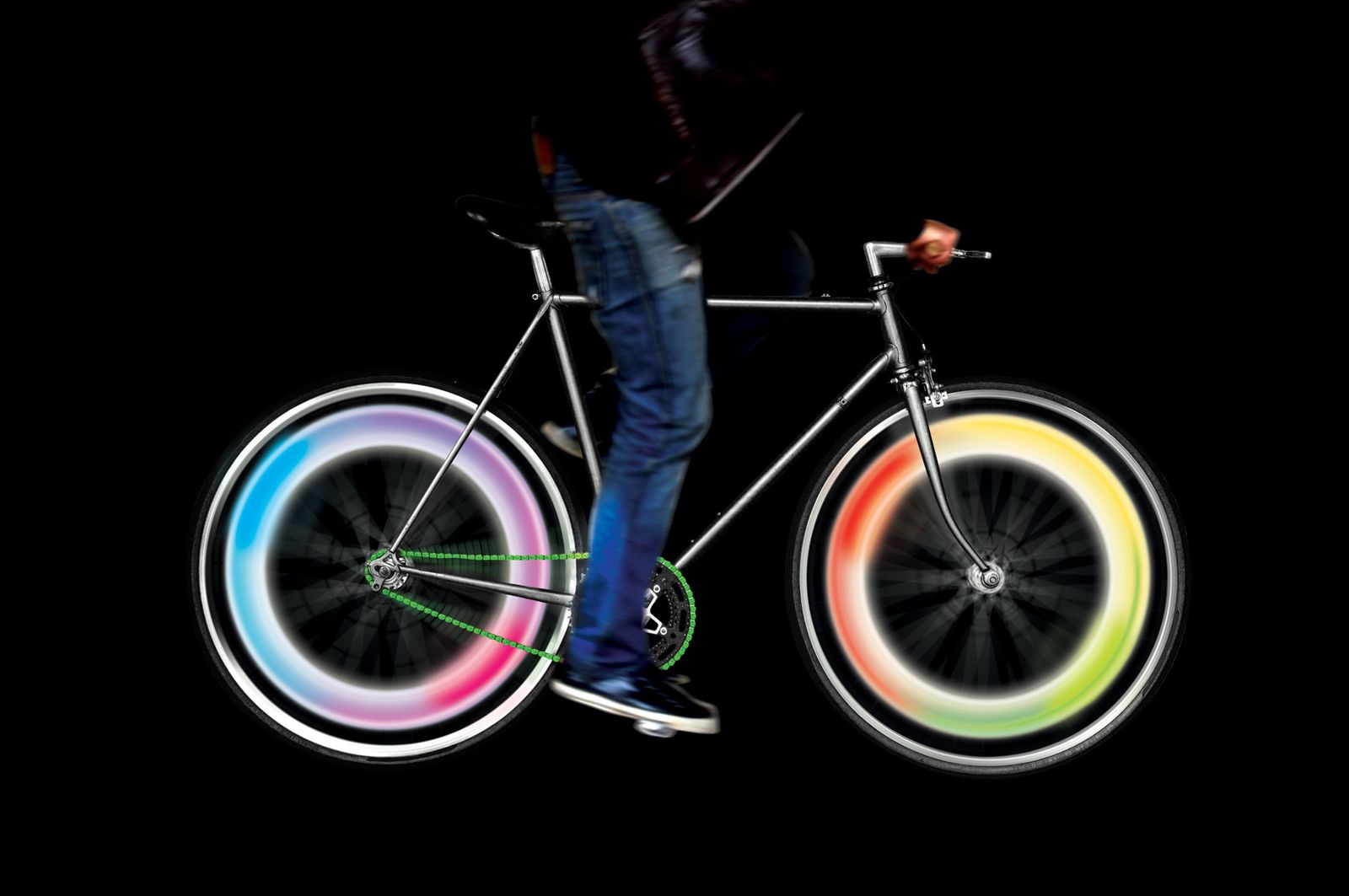 EINMALIGE VERWENDUNG Geschenke / Radfahrer