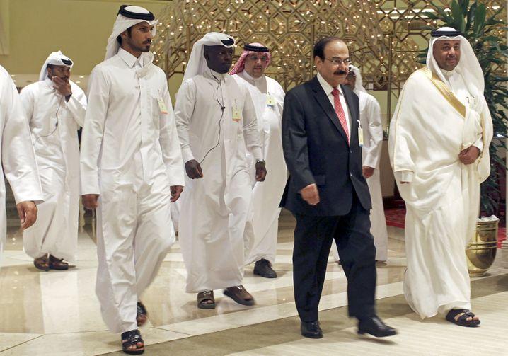 Öl-Konferenz in Doha am Sonntag