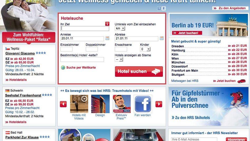 Testsieger HRS: Gute Preise, umfangreiches Hotelangebot