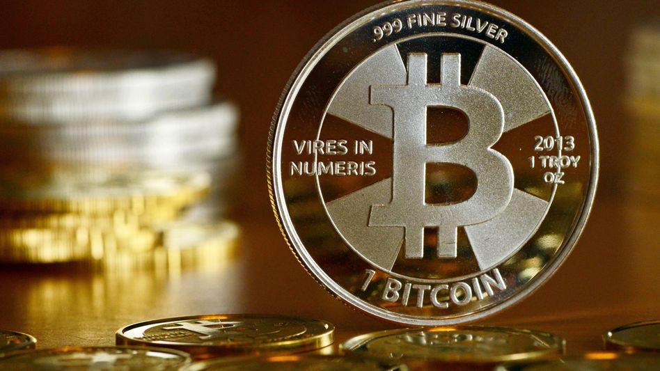 Bitcoin-Münzen (Illustration)