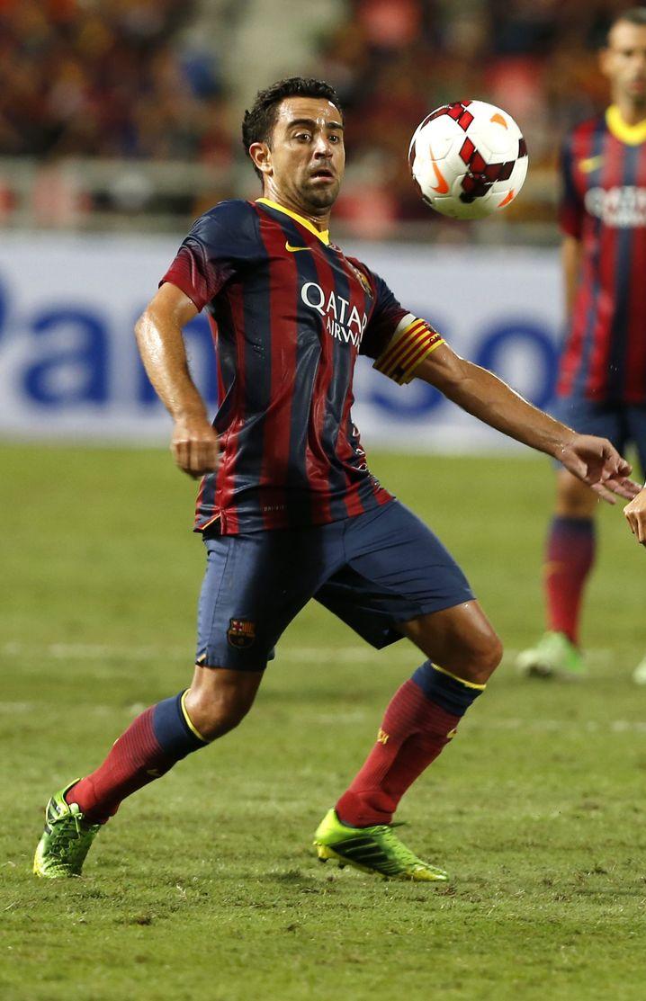 Barcelonas Spielmacher Xaxi: Das Sechser-Spiel perfektioniert