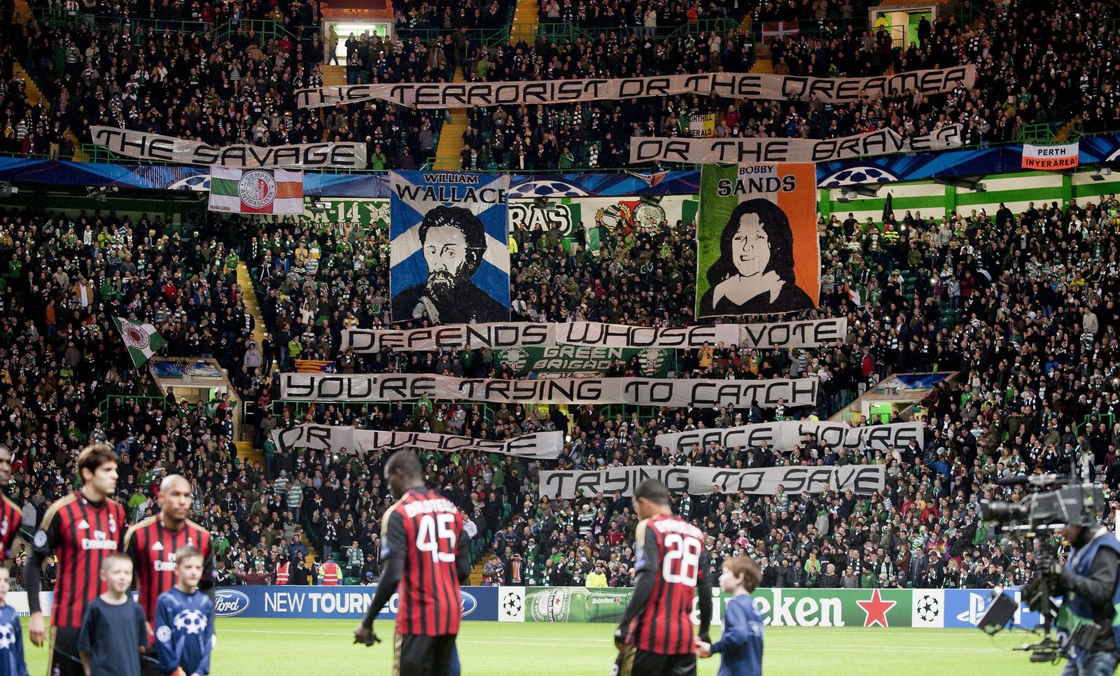 Celtic Glasgow / Mailand / Bobby Sands