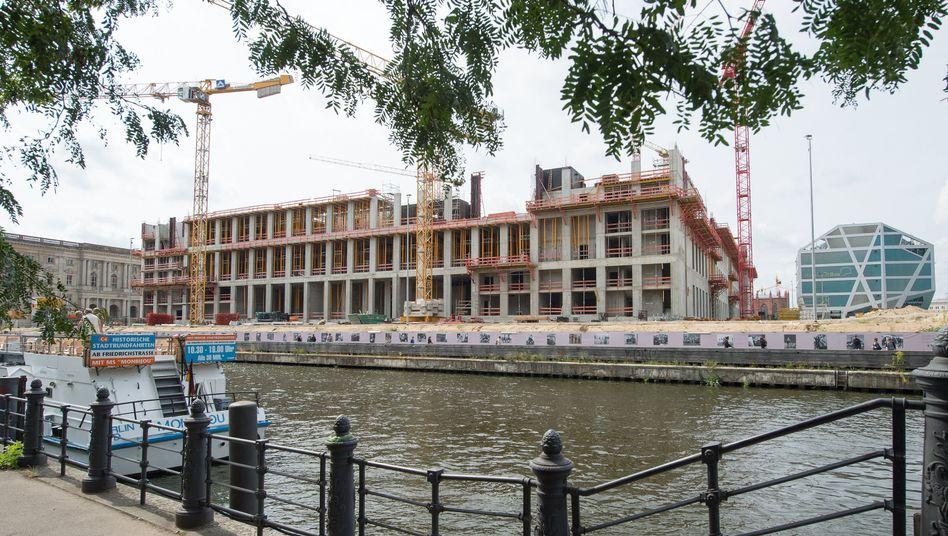 Berliner Schloss im Bau: Mammutprojekt für 590 Millionen Euro