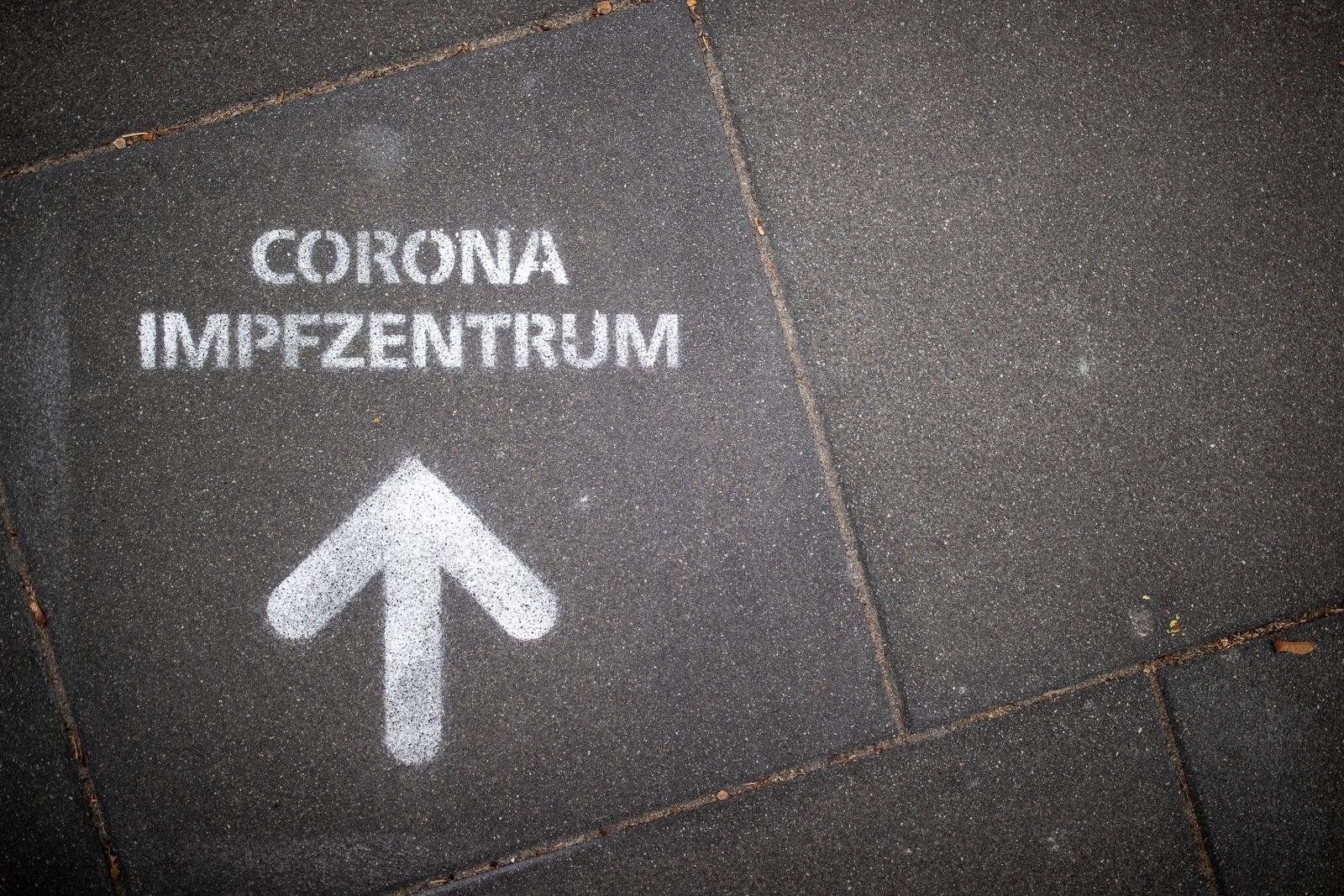 Coronavirus - Impfzentrum Nürnberg
