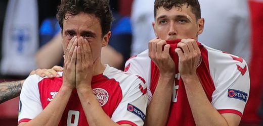 Christian Eriksen bricht bei Fußball-EM 2021 zusammen: Der Schock von Kopenhagen