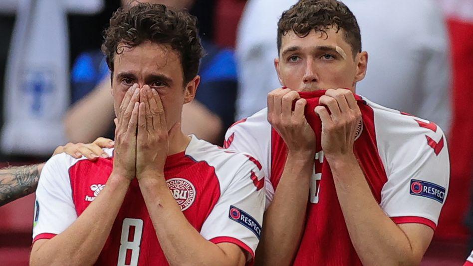 Die Spieler Thomas Delaney und Andreas Christensen