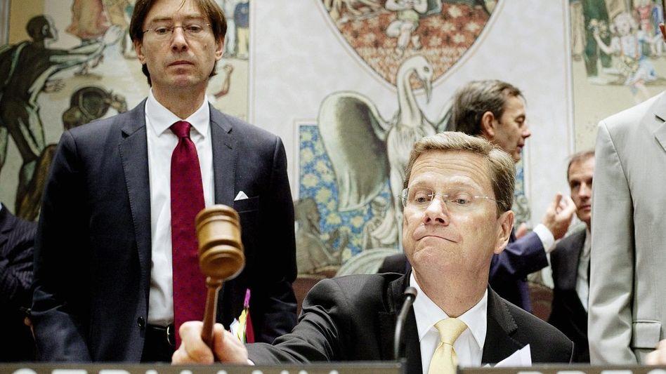 Außenminister Westerwelle im Sicherheitsrat(*): »Wir waren alle sehr enttäuscht«