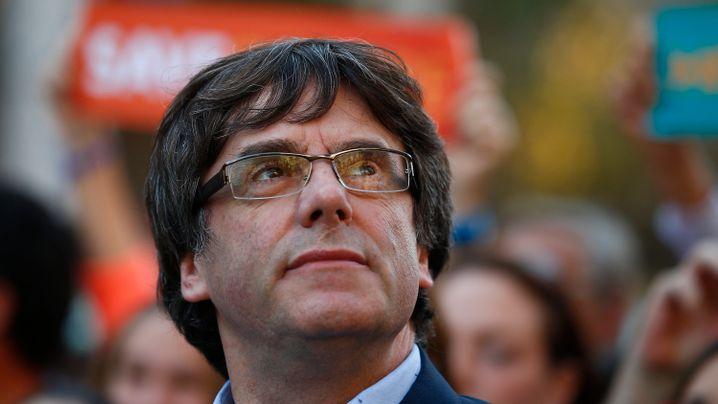 Katalonien: Hunderttausende auf Barcelonas Straßen