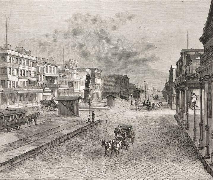 New Orleans 1878: Gelbfieber-Opfer werden mit der Kutsche zum Friedhof gefahren