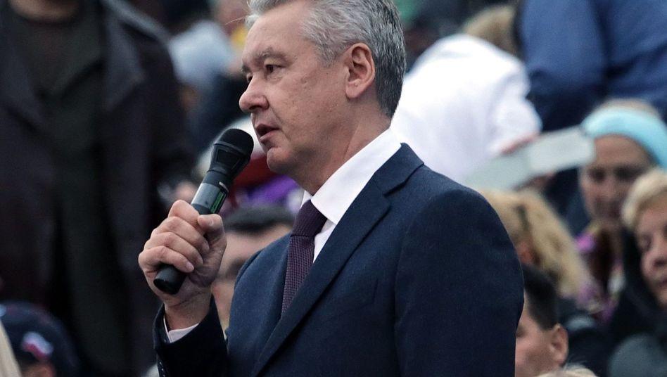 """Moskaus amtierender Bürgermeister Sobjanin: """"Auch unter den Demonstranten beliebt"""""""