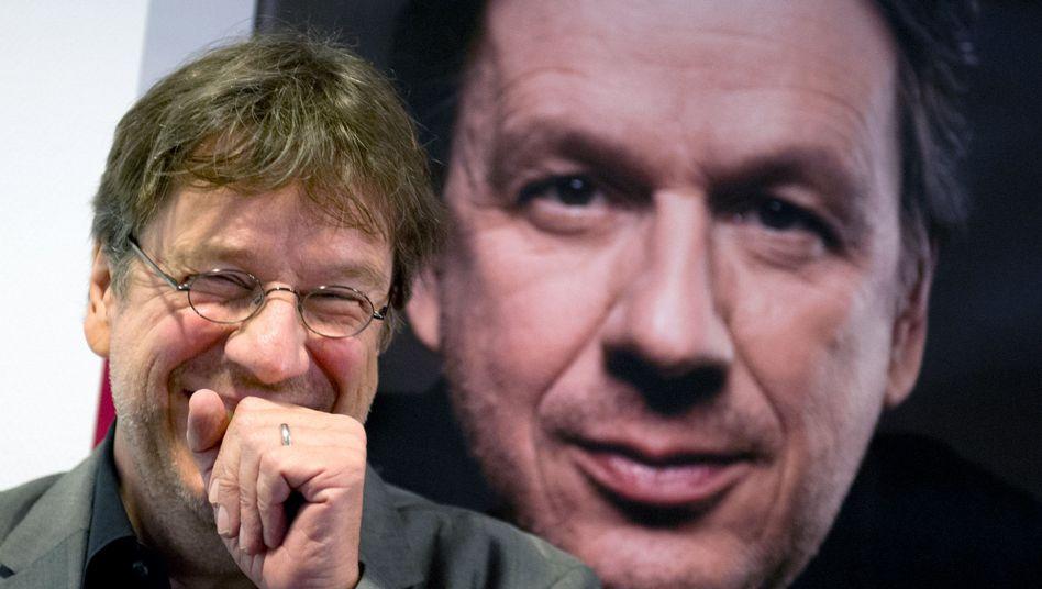 Kachelmann bei seiner Buchpräsentation in Frankfurt am Main: Erfolg vor Gericht