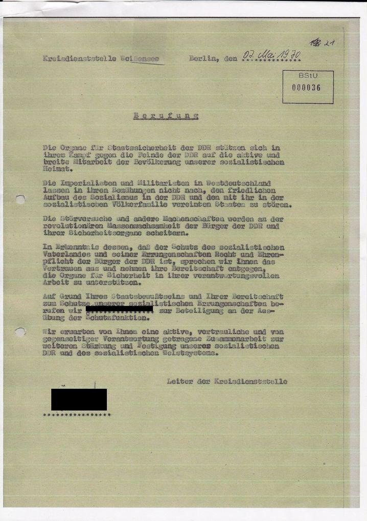 """""""Furchtbare Scham"""": Die Verpflichtungserklärung von Marinas Vater"""