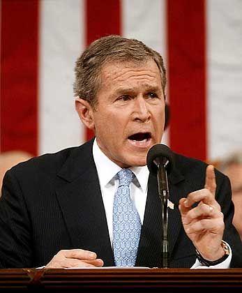 George W. Bush: Der Kampf gegen den Terrorismus ist noch nicht vorbei