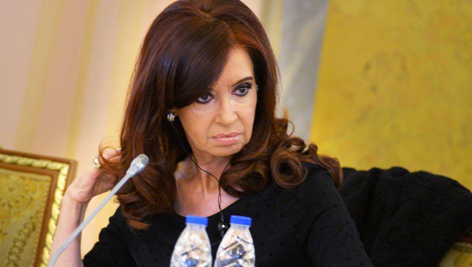 """Argentiniens Präsidentin Kirchner: """"Unerschütterlicher Einsatz"""""""