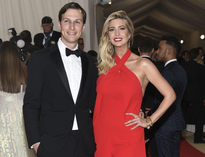 Jared Kushner und Ivanka Trump 2016 in New York