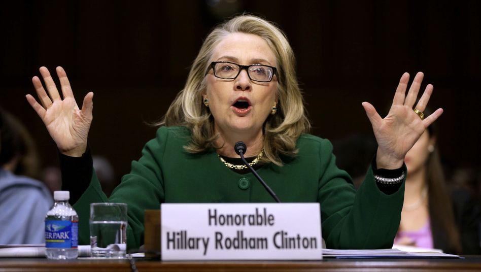 "Außenministerin Clinton: ""Stark, souverän, wissend, furchtlos"""