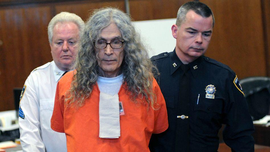 Rodney Alcala in einem New Yorker Gerichtssaal im Jahr 2013