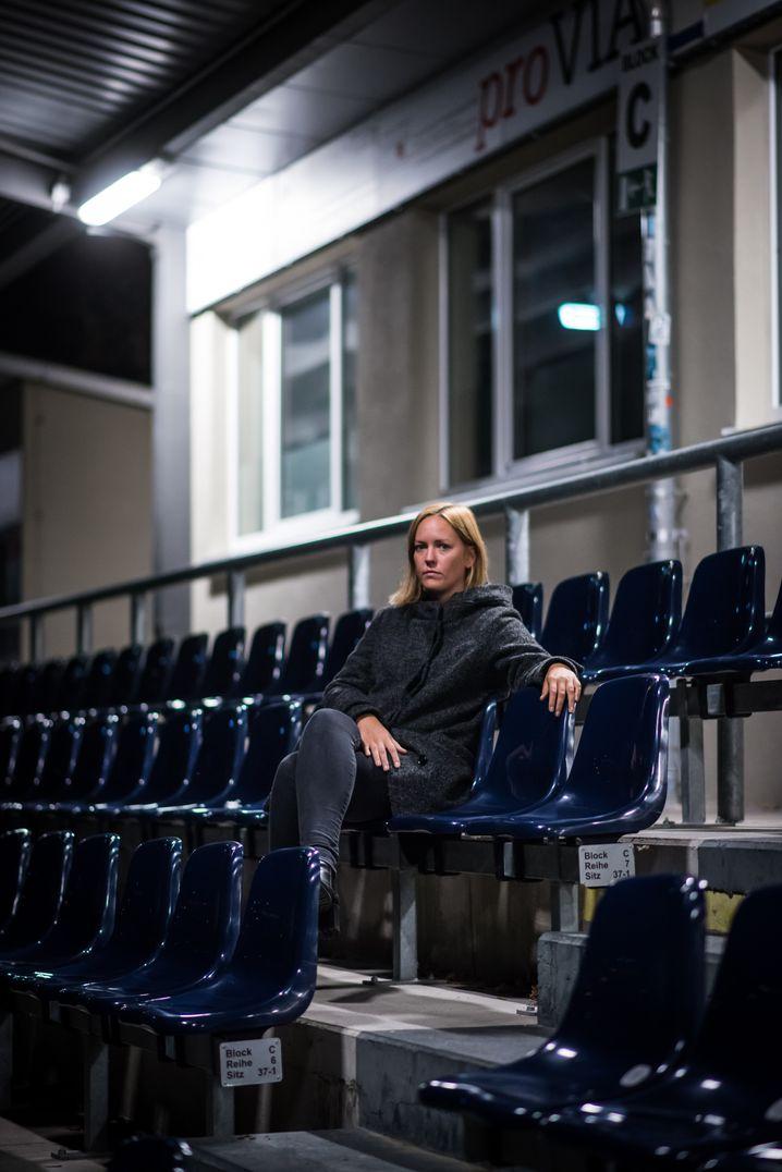 Fußballfunktionärin Dahme in Potsdam: Sitzblockaden gegen Neonazis
