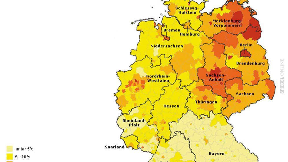 Armutsatlas: Wo die meisten Hartz-IV-Empfänger leben