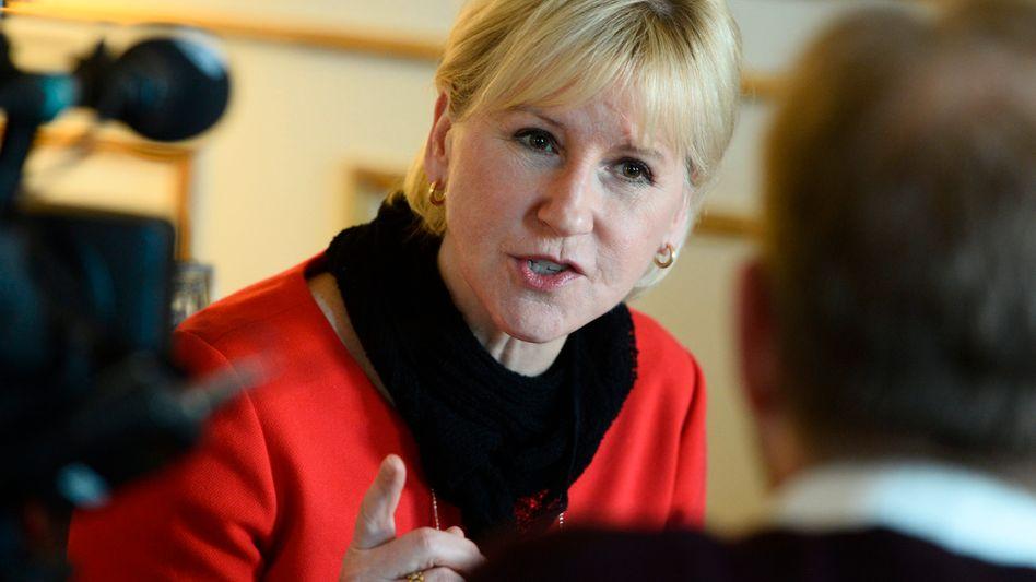 """Schwedische Außenministerin Wallström: """"Eine Mischung aus Blindheit und politischer Dummheit"""""""
