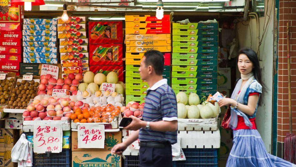Markt in Shanghai: Der Aufstieg Chinas scheint unaufhaltsam