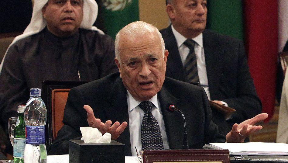 Nabil al-Arabi, Generalsekretär der Arabischen Liga: Hilflos angesichts syrischer Gewalt