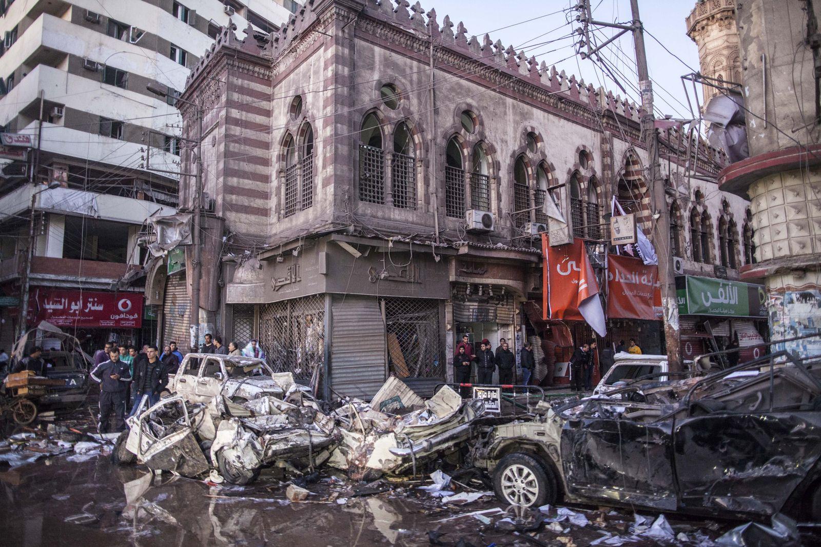 Ägypten/ Mansoura/ Anschlag