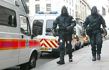 In 2003, London conducted the Operation Sassoon terrorism preparation exercise