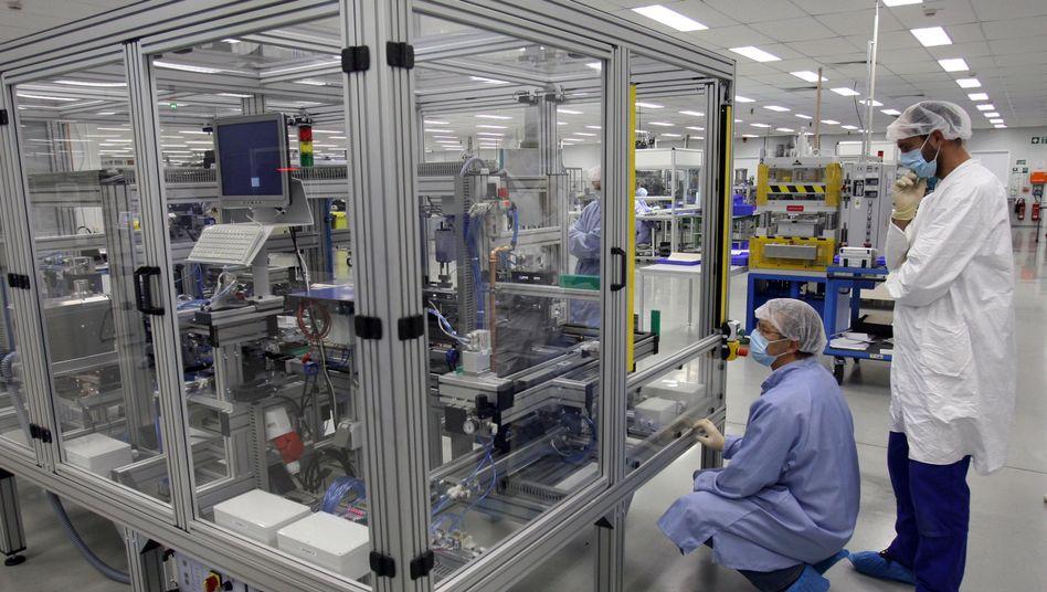 Li-Tec-Fabrik in Kamenz: Betrieb wird 2015 eingestellt