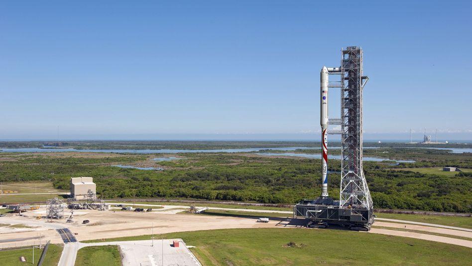 """Liberty""-Rakete (grafische Darstellung): Anderthalb mal so lang wie ""Ariane 5"""