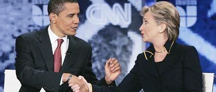 Obama, Clinton: Frühere First Lady in drei bis vier Rollen