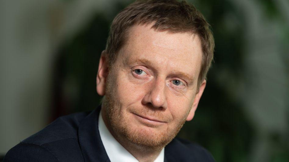 Sachsens Regierungschef Michael Kretschmer (CDU)