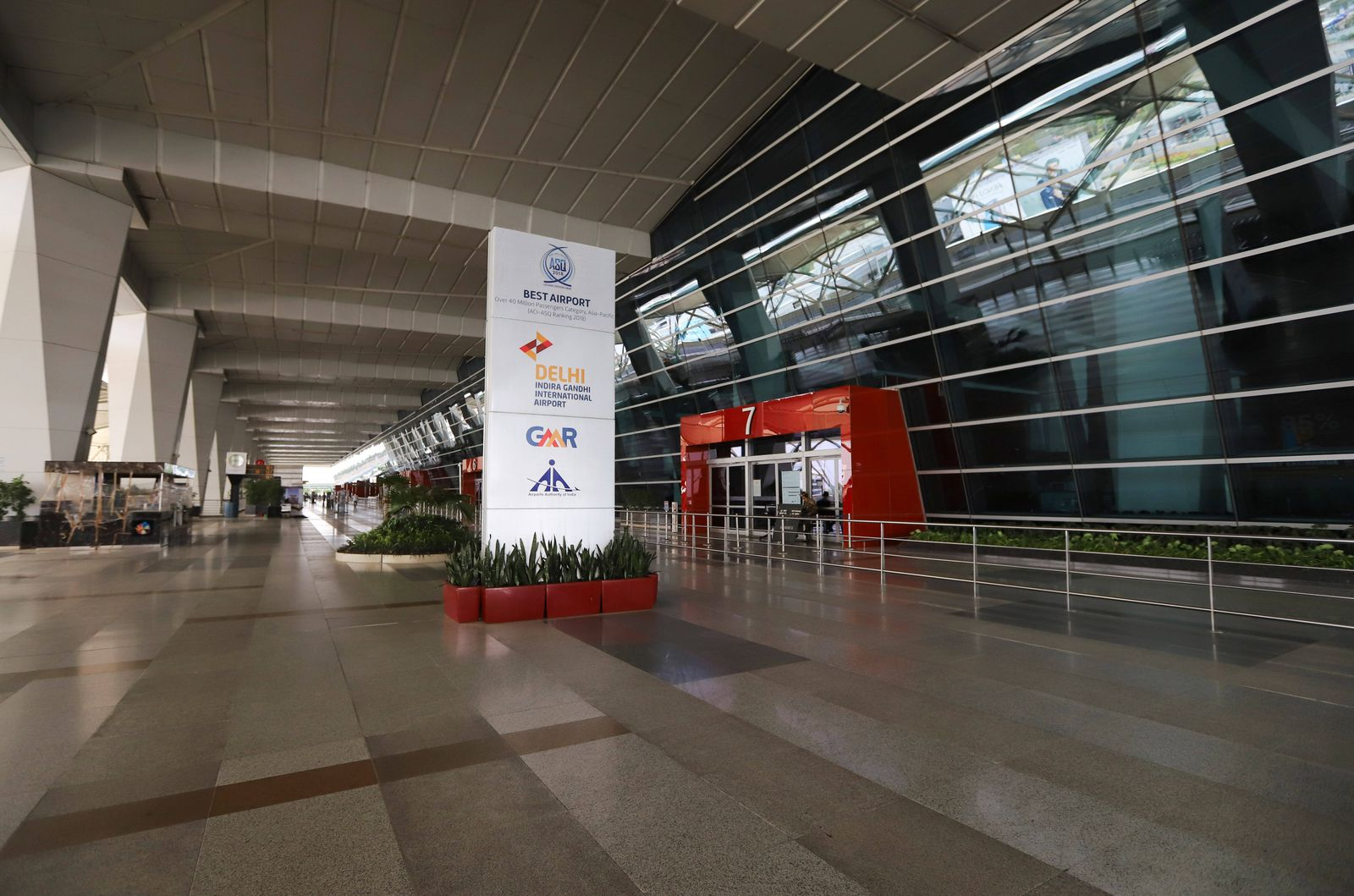 May 8, 2020, Delhi, India: Indira Gandhi international airport used for the evacuations..India has started a very large
