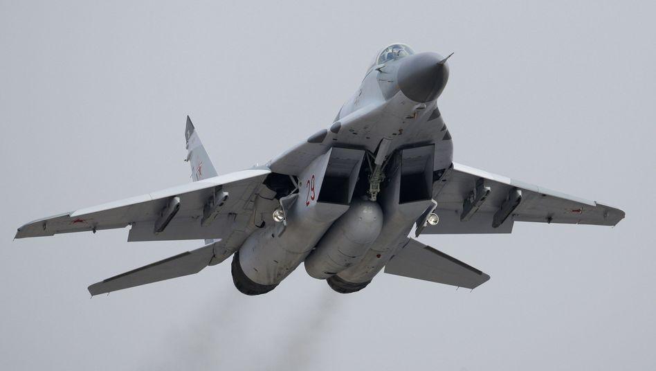 Mig-29: Moskau liefert mindestens zehn Jets nach Syrien