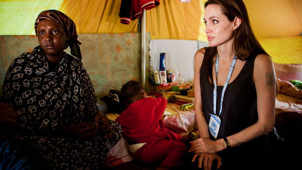 Angelina Jolie: Einsatz für die Uno