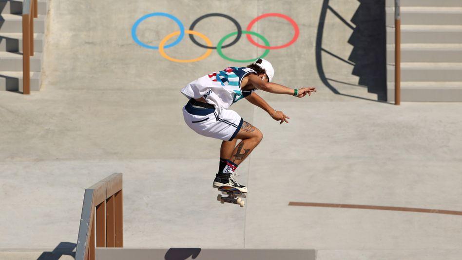 Skateboarding feierte in Tokio seine Olympia-Premiere - und gilt schon als großer Erfolg